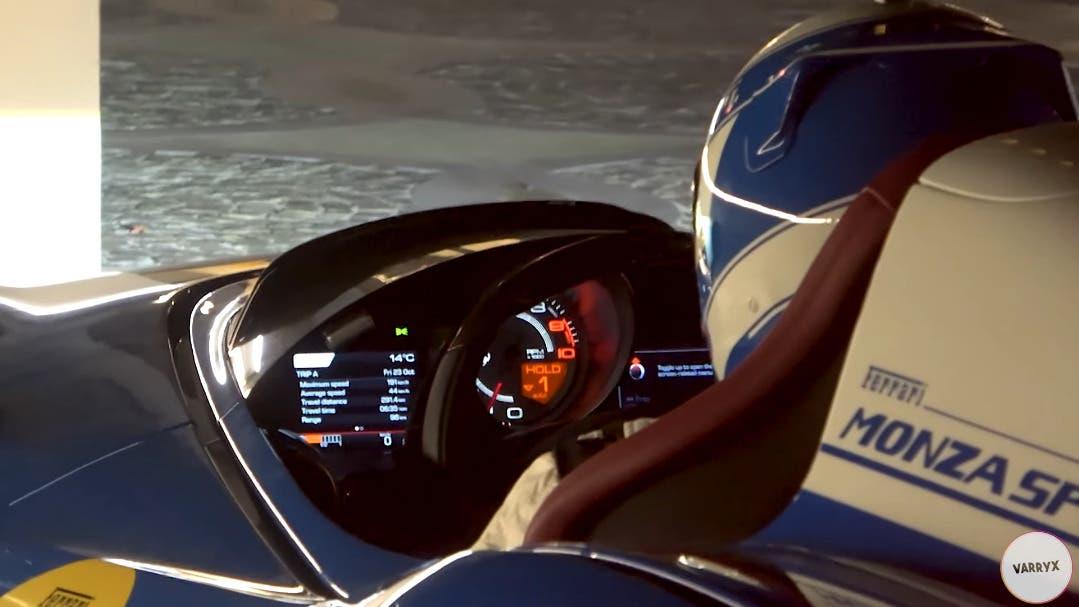 Ferrari Monza SP1 panoramica sound