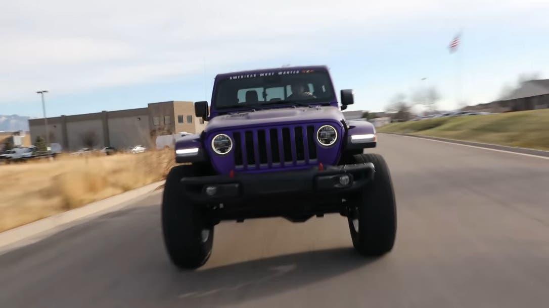 Hellesaurus 6x6 Jeep Gladiator