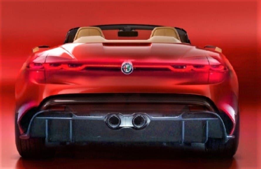 Alfa Romeo Spider Render