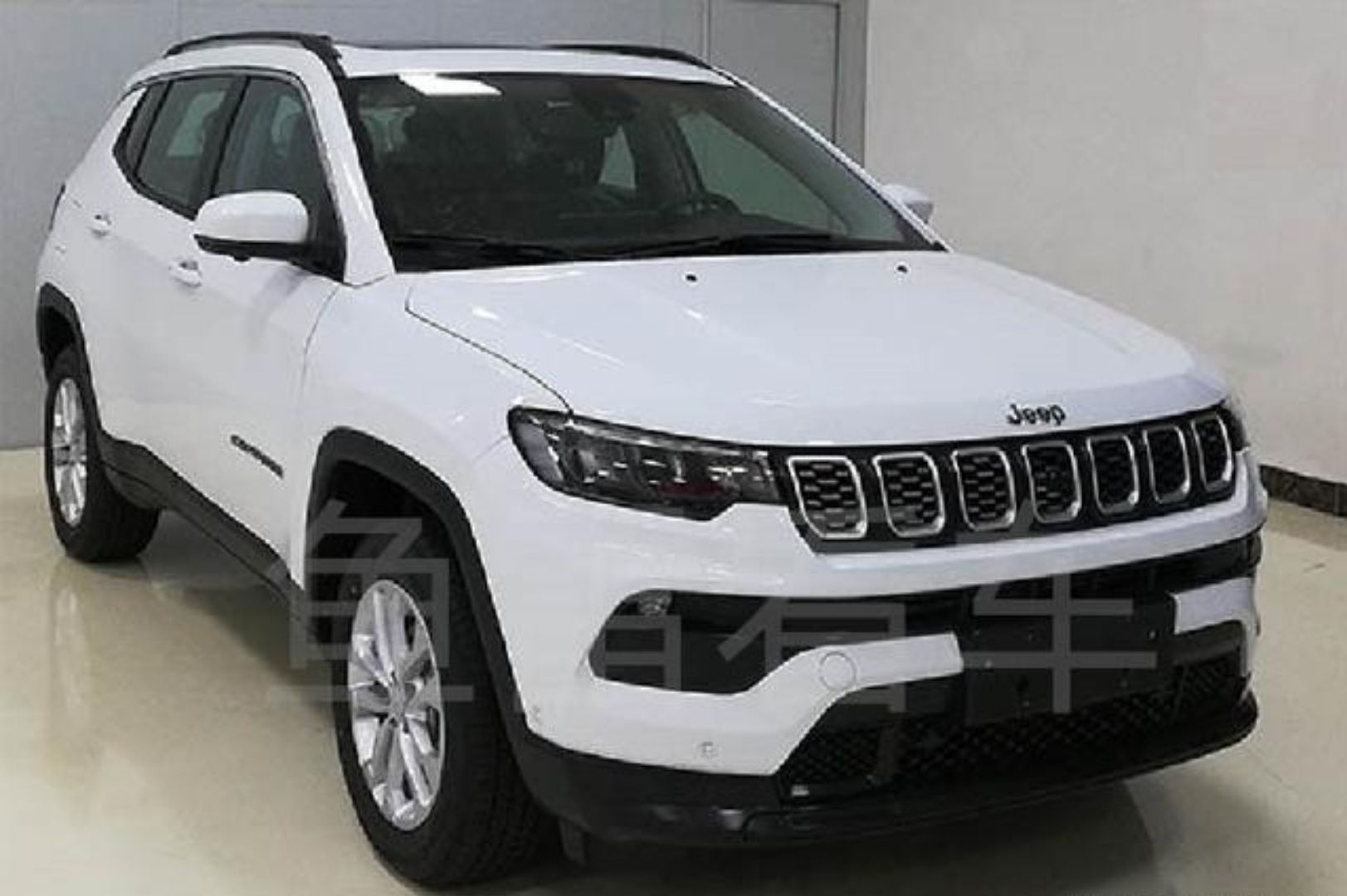 Jeep Compass restyling Cina