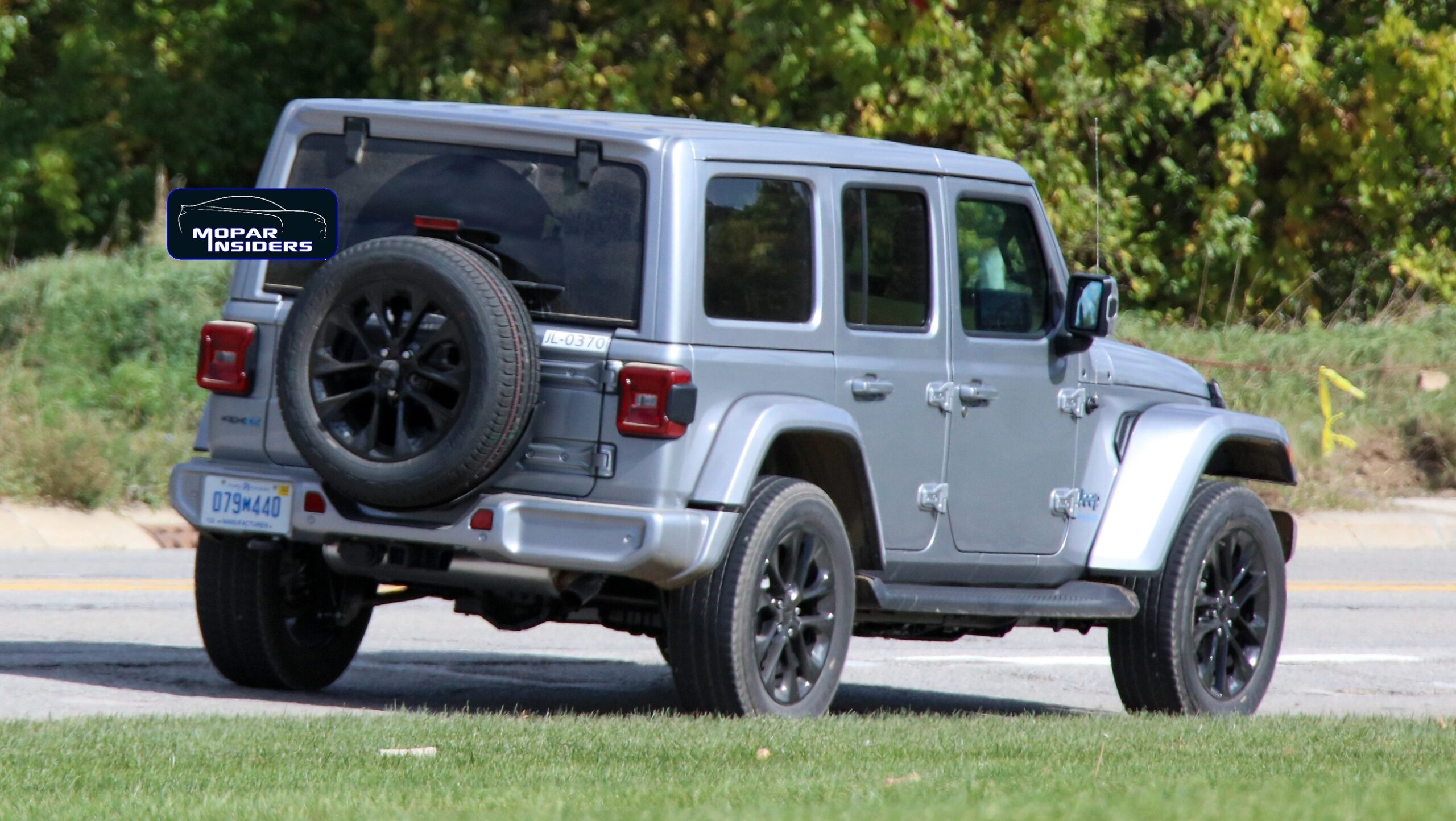 Jeep Wrangler 4xe 2021 foto spia