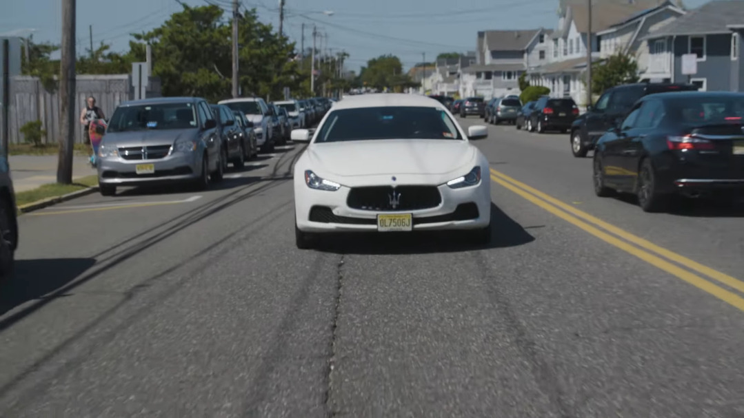 Maserati Ghibli limousine
