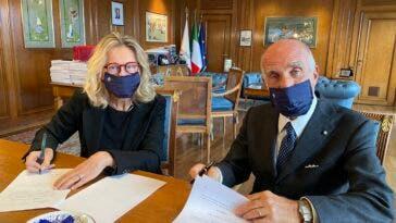 Monica Macaluso e Sticchi Damiani