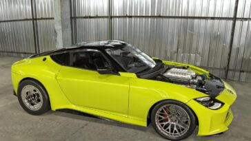 Nissan Z Proto Hellcat render