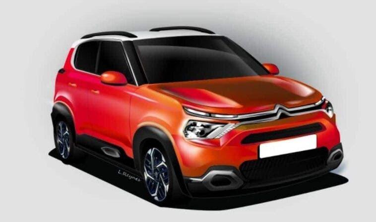 Nuova Citroën C3 render