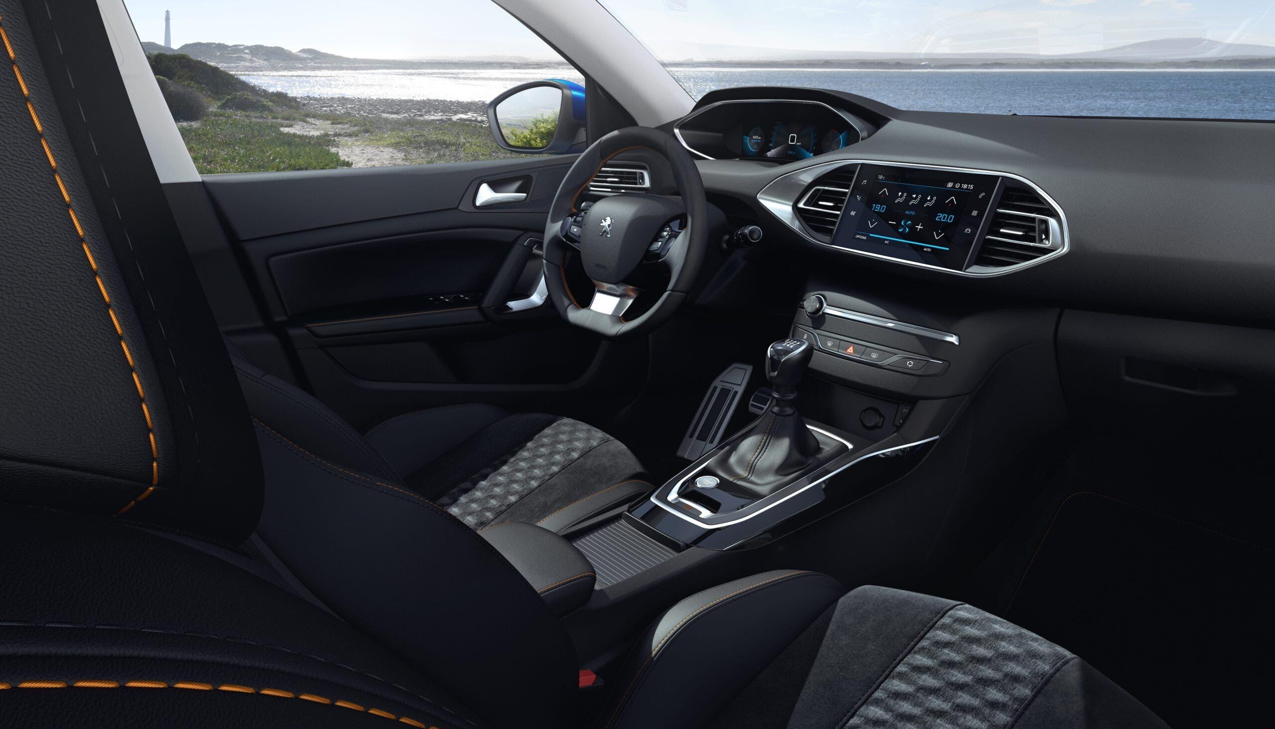 Nuova Peugeot 308 Regno Unito