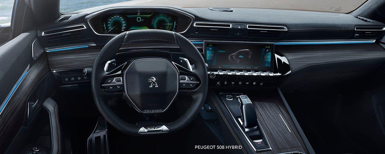 Nuova Peugeot 508 Hybrid