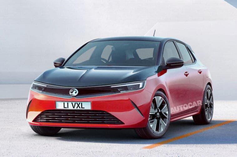 Nuova Vauxhall Astra render