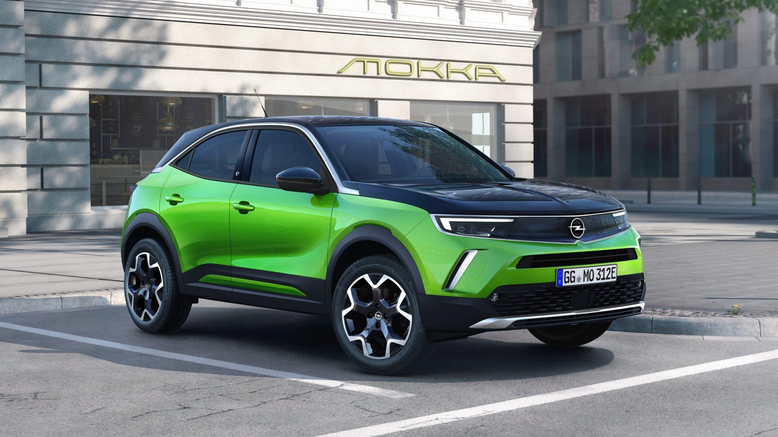 Nuovo Opel Mokka design
