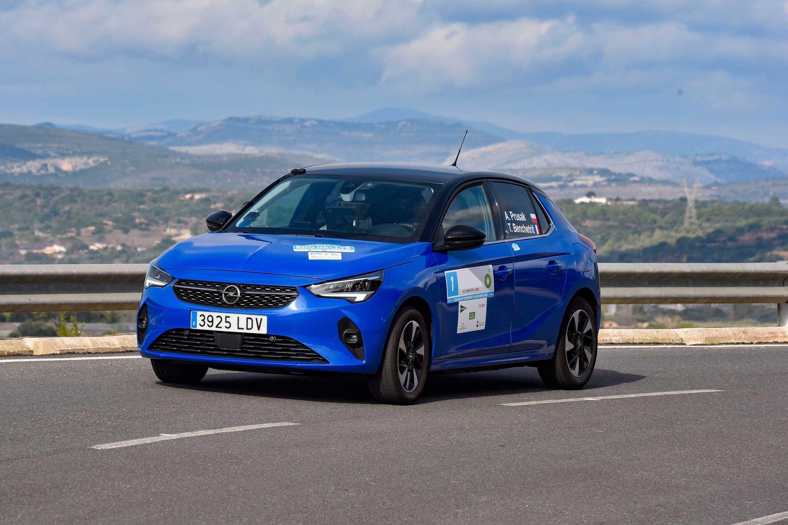 Opel Corsa-e Championnat Électrique et Nouvelles Énergies 2020