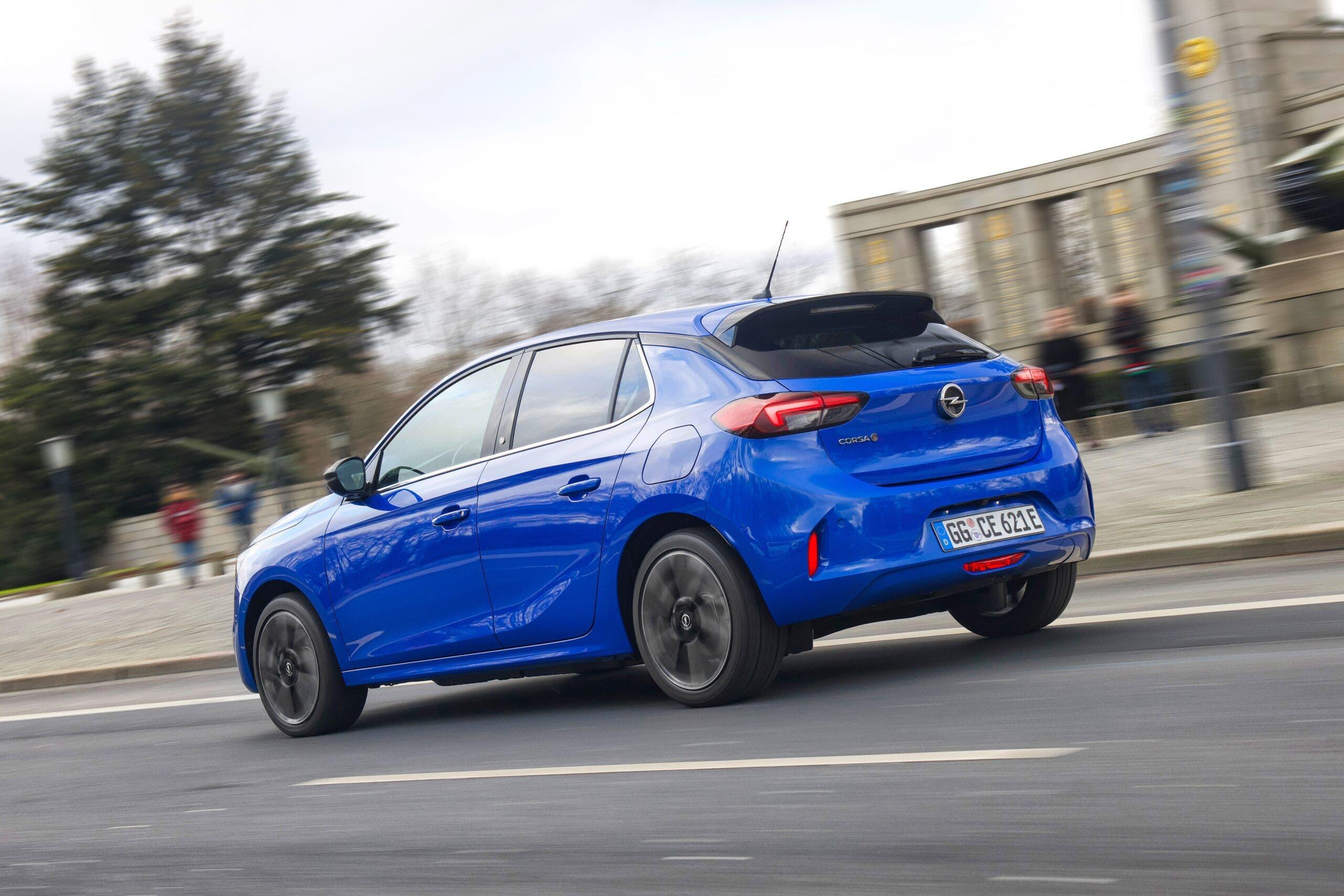 Opel Corsa-e auto elettrica per tutti