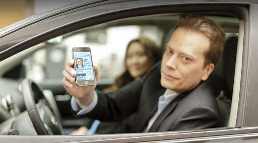 Patente guida su smartphone