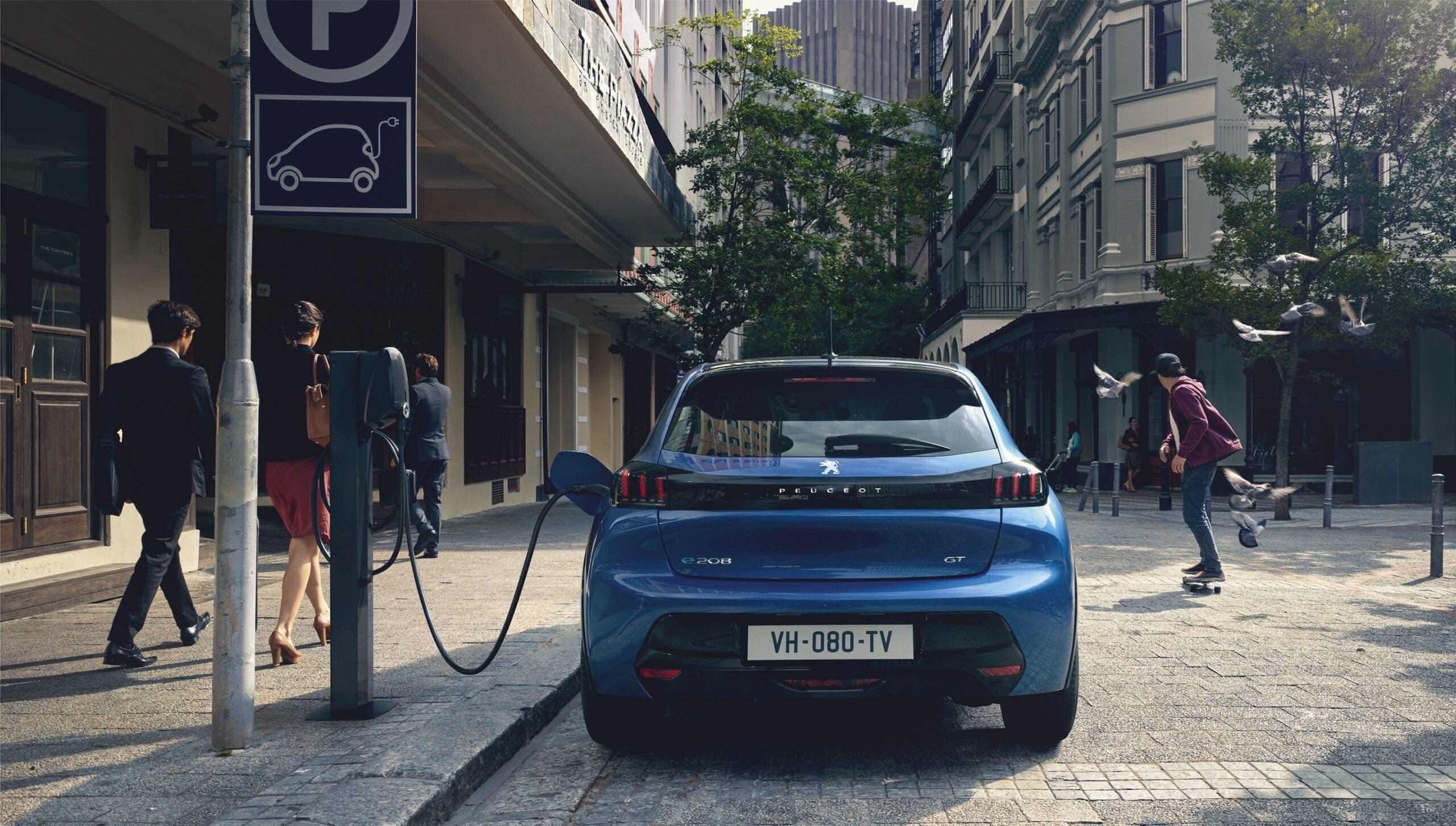 Peugeot wallbox LEV