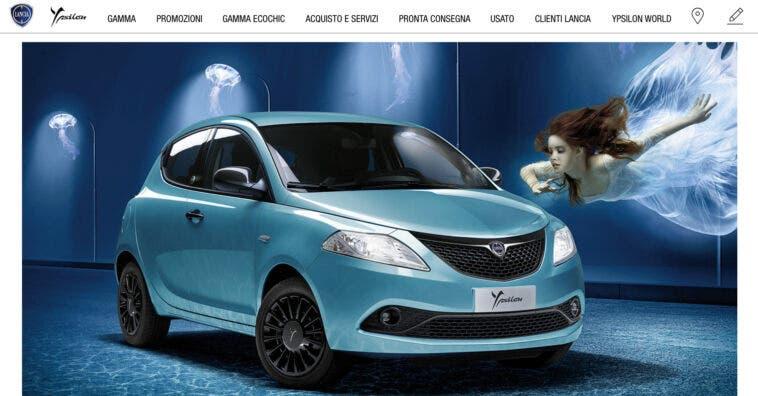 Promozione novembre 2020 Lancia Y Hybrid con 3 strade