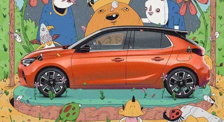 Vauxhall Corsa-e promozione UK