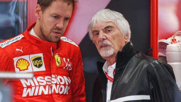 Vettel e Ecclestone