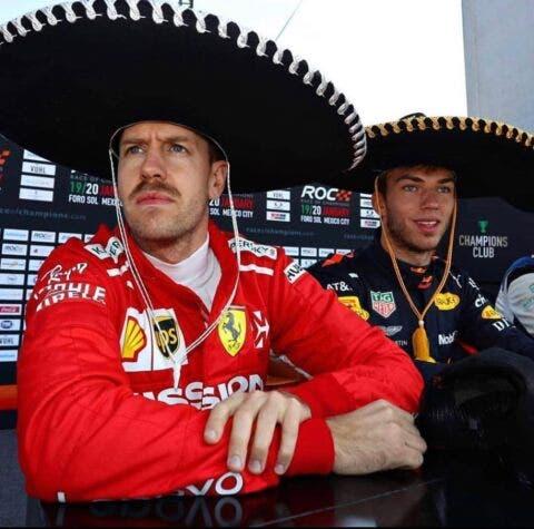 Vettel Gasly