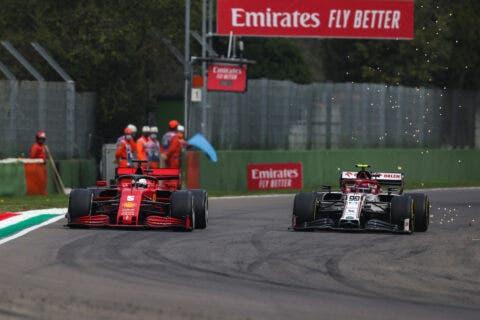 Imola Vettel GIovinazzi
