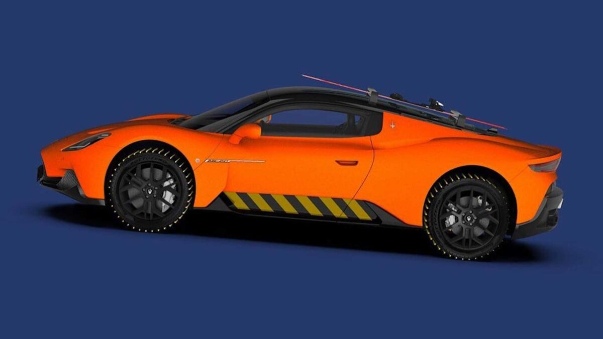 Maserati MC20 Neve