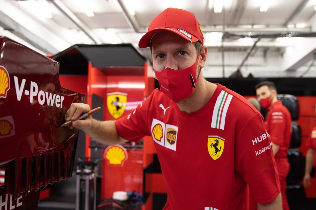 Vettel Asta Ferrari