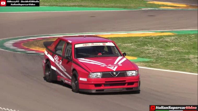 Alfa Romeo 75 Turbo Evoluzione IMSA Imola