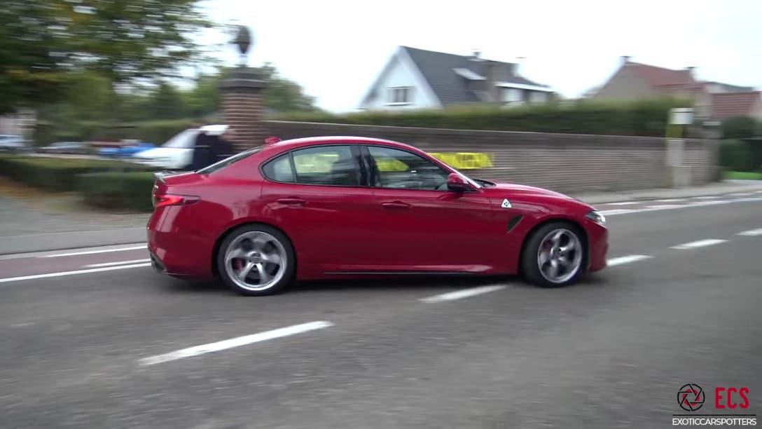 Alfa Romeo Giulia Quadrifoglio Olanda Belgio