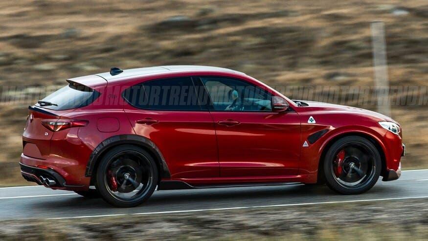 Alfa Romeo Stelvio GTA/GTAm render