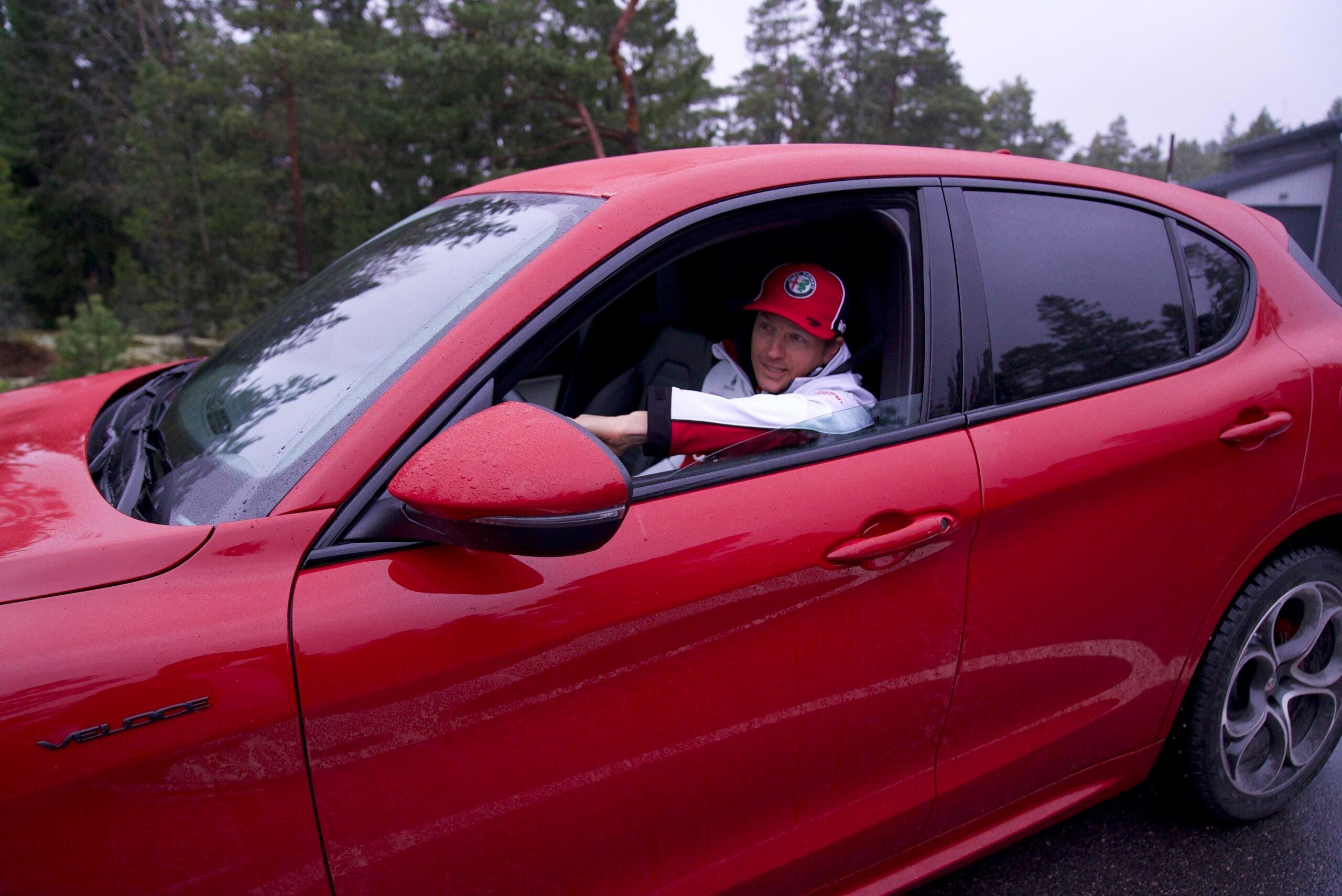 Alfa Romeo Stelvio Veloce Kimi Raikkonen
