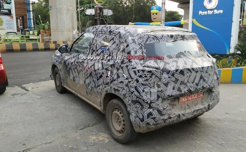 Citroën C3 SUV foto spia India