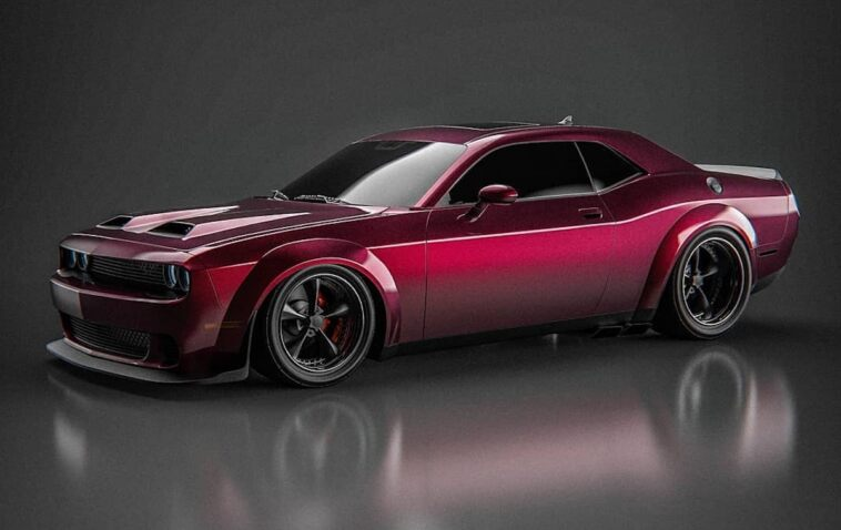 Dodge Challenger 392 render