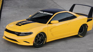 Dodge Charger Daytona tributo render