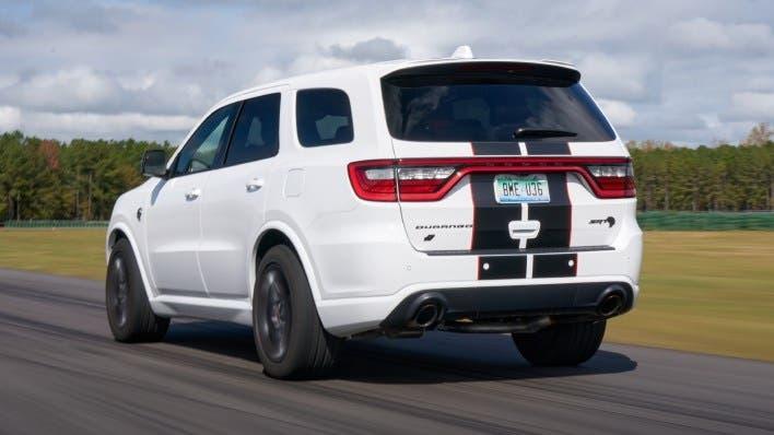 Dodge Durango SRT 2021 SRT Black e Redline Stripe