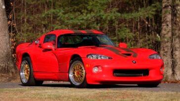 Dodge Viper GTS CS asta