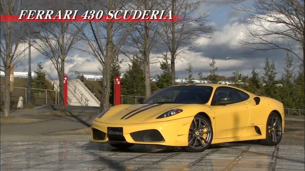 Ferrari 430 Scuderia vs Porsche 911 GT2 drag race