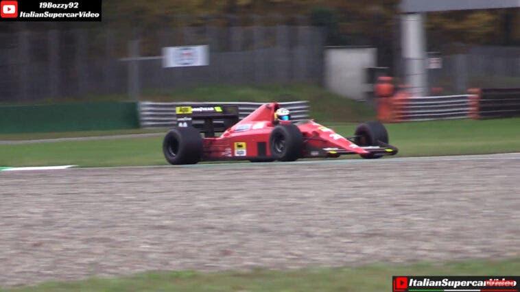 Ferrari 640 F1 Gerhard Berger Monza