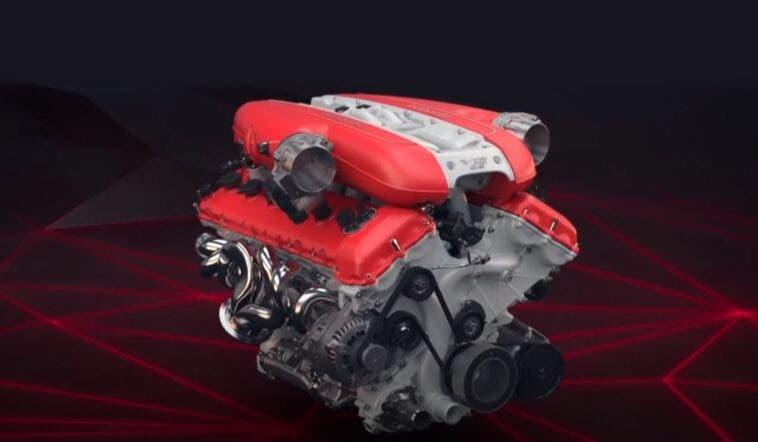 Ferrari 812 Superfast F140 GA V12