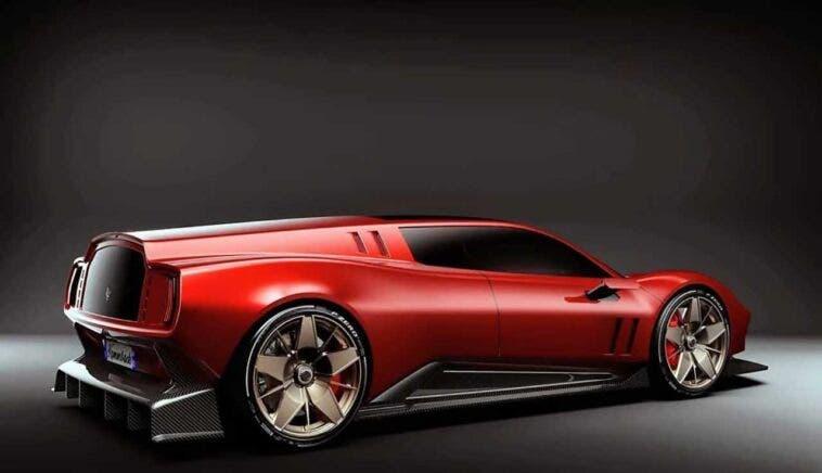 Ferrari Breadvan foto