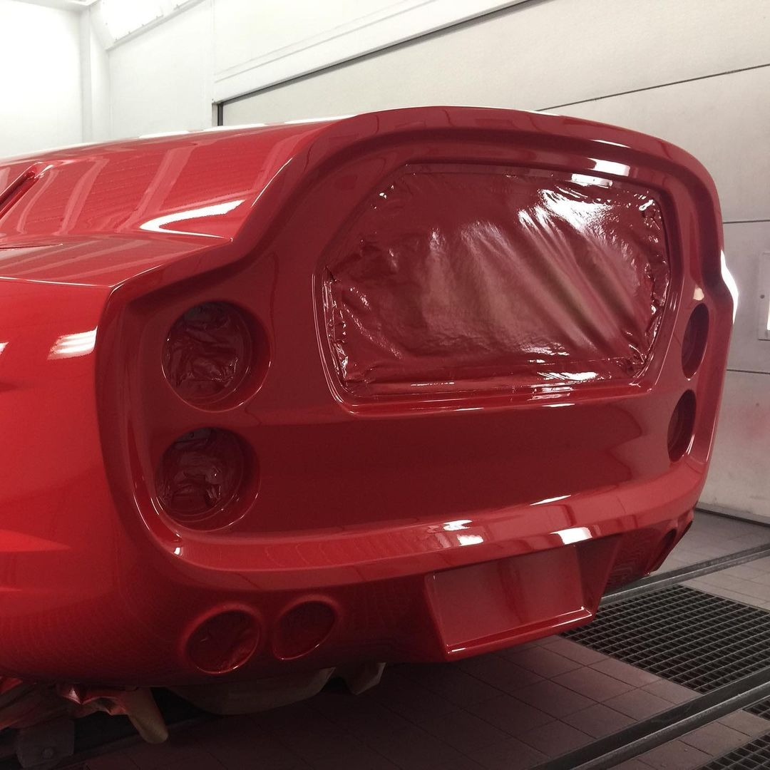 Ferrari Breadvan moderna foto