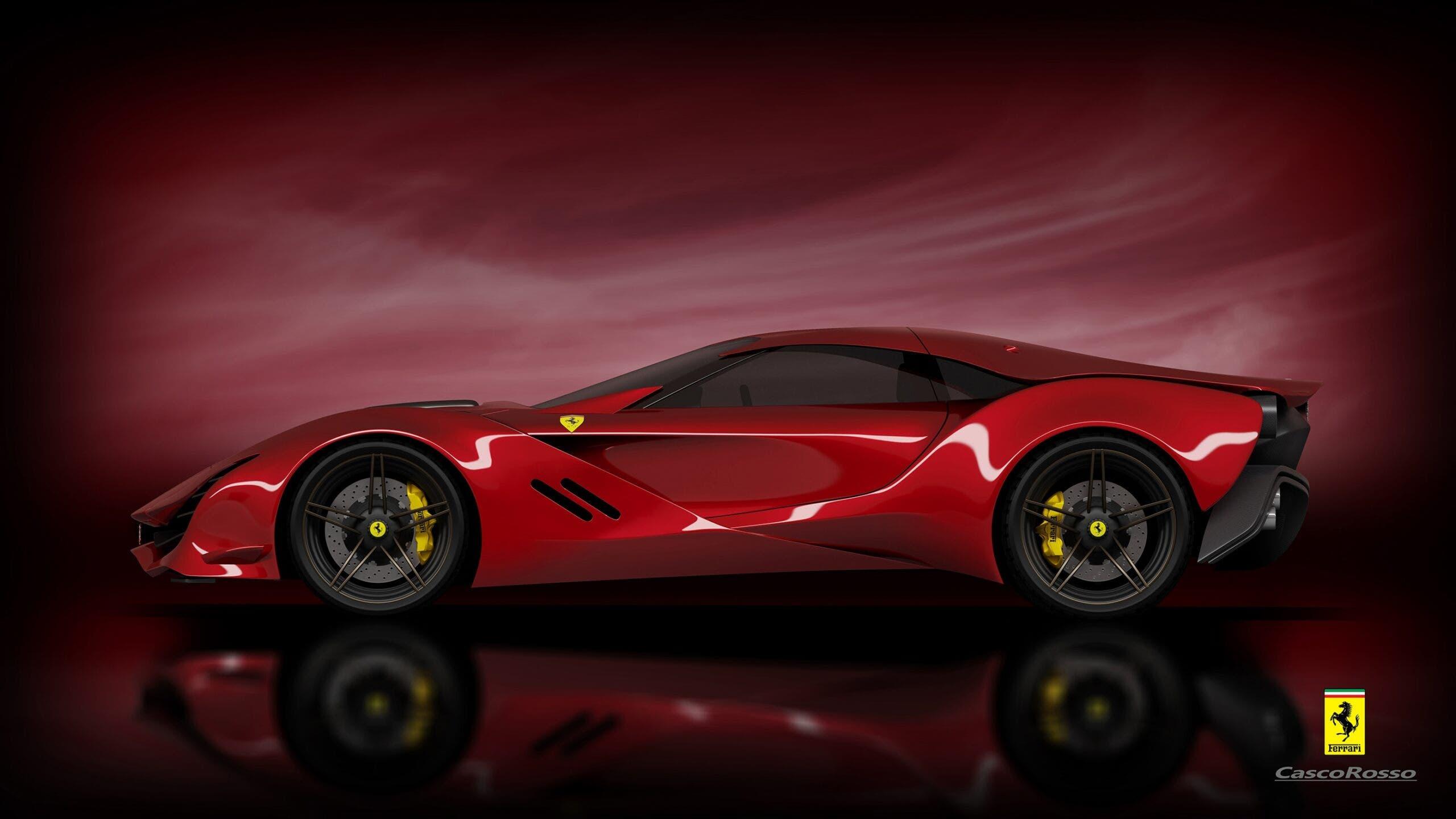 Ferrari CascoRosso concept