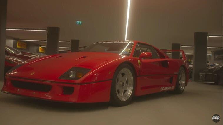 Ferrari F40 scarico Tubi
