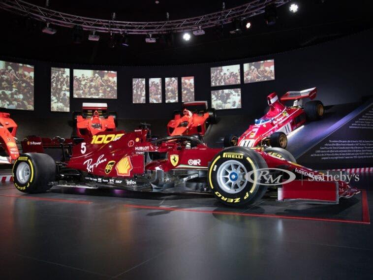 Ferrari SF1000 replica asta