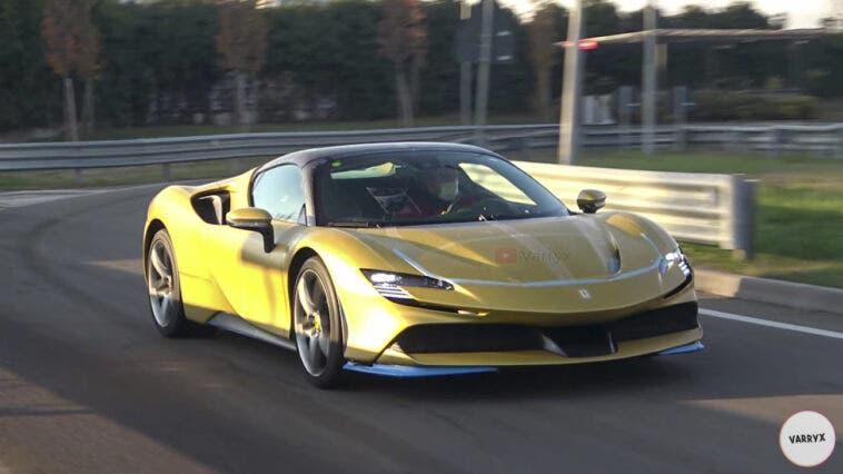 Ferrari SF90 Spider live video