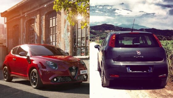 Fiat Punto e Alfa Romeo Giulietta