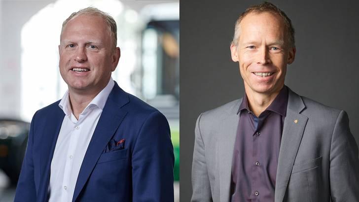 Henrik Henriksson e Johan Rockström