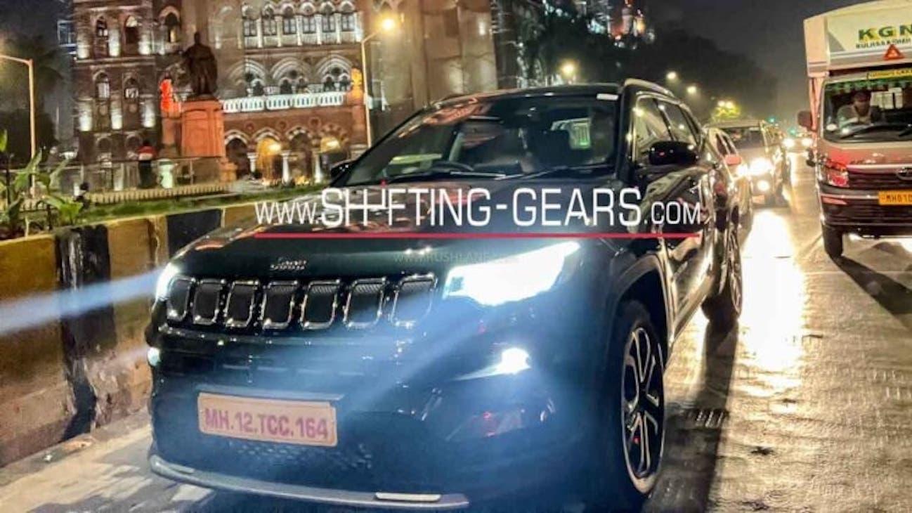 Jeep Compass 2021 indiana foto spia