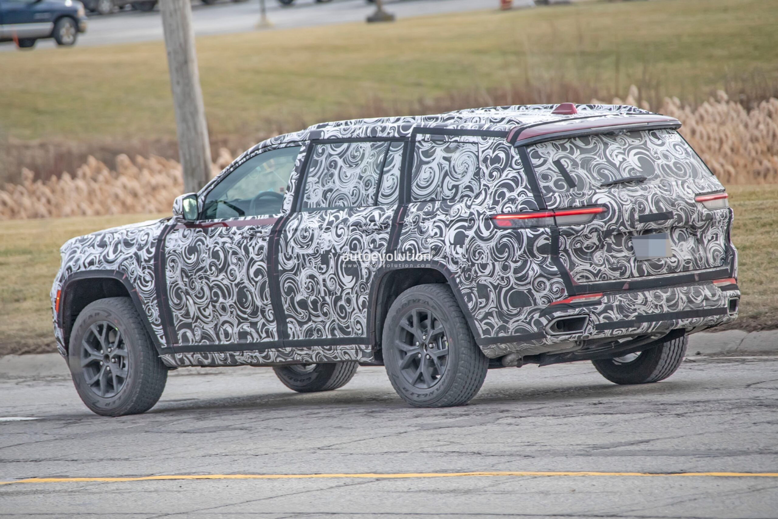 Jeep Grand Cherokee 2022 foto spia Detroit