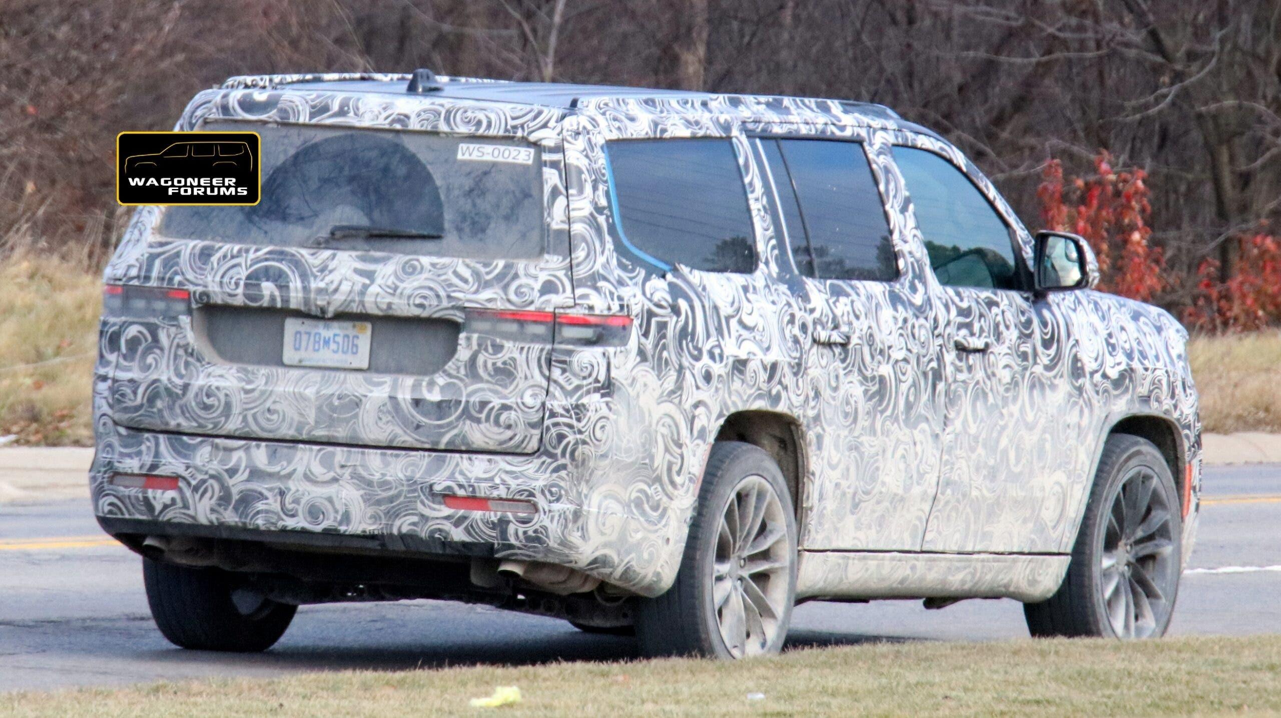 Jeep Grand Wagoneer 2022 foto spia ultimo prototipo