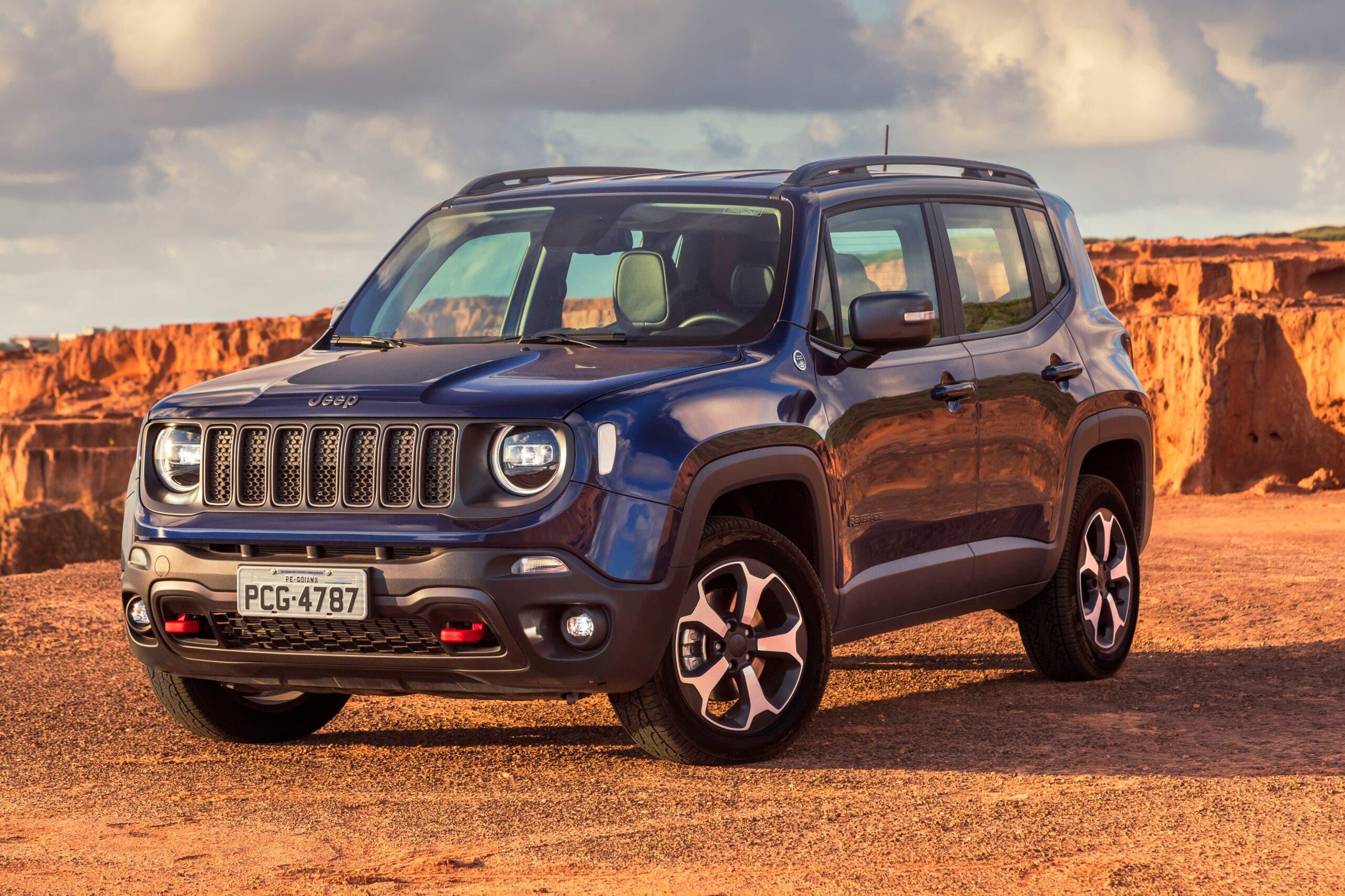 Jeep Renegade vendite Brasile