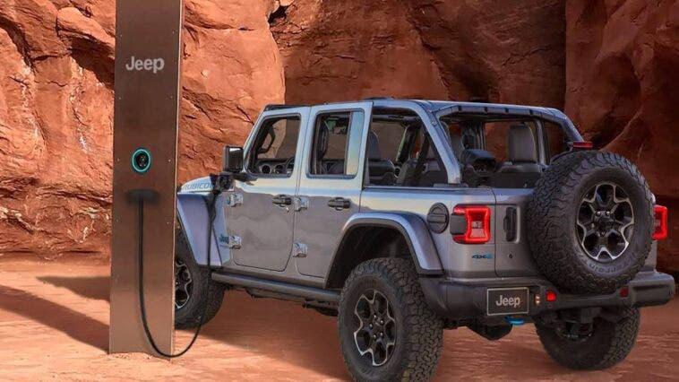 Jeep Wrangler 4xe monolite Utah