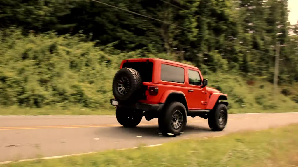 Jeep Wrangler Demon RubiTrux